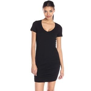Michael Stars v-neck rouched dress!